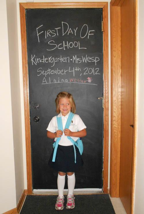 Alainafirstdayofschool
