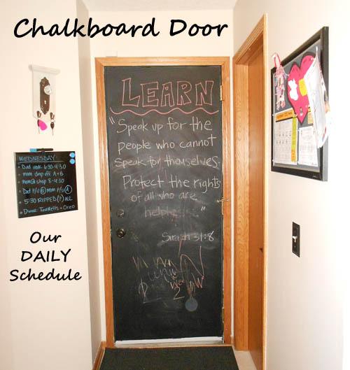 Chalkboarddoor